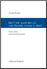 Darf ich auch Verse von Goethe verwenden?