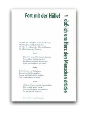 Heinrich Heine Bleisatzblätter Produktkategorien Edition Bodoni